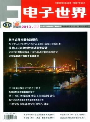 《电子世界》电子信息国家级期刊征稿
