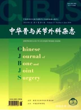中国骨与关节外科杂志征收高级职称论文