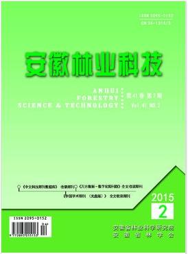 安徽林业科技安徽省林业科技期刊