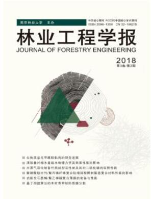 林业工程学报杂志2018年04期投稿论文目录查询