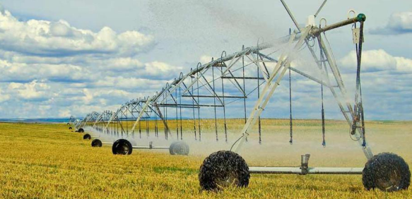 指针式喷灌机的工作原理及其在农业灌溉中的应用浅析