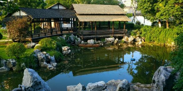 论古典园林对当代景观设计的启发——以南京愚园为例