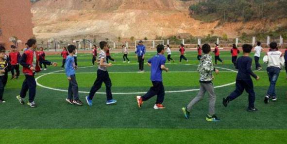 体育游戏在体育教学中的应用