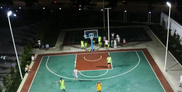 室外篮球场智能照明控制系统设计研究