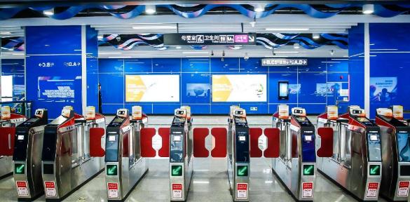 数字化在地铁室内空间的运用