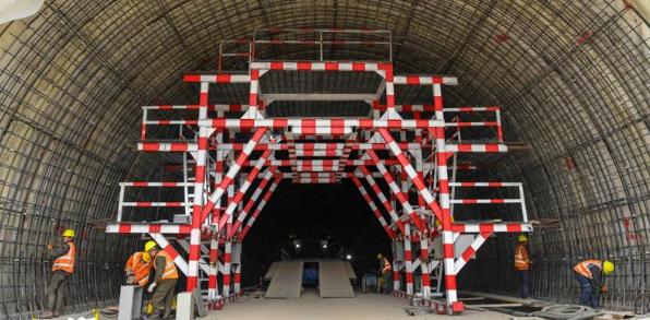 复杂地质条件下公路隧道施工技术