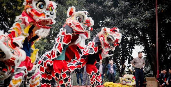 中国传统文化对舞狮运动的影响研究