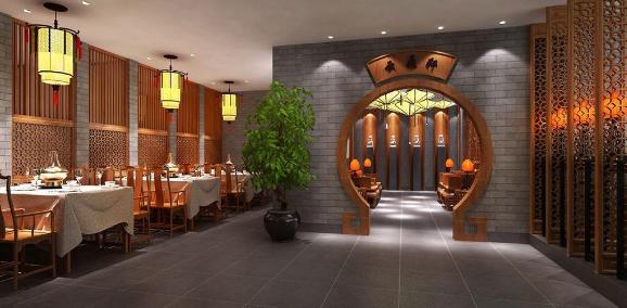 新中式风格在餐饮建筑空间中的应用