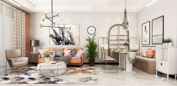 居住空间设计色彩搭配与情感需求运用