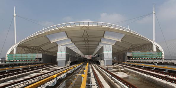 轨道交通高架车站复合管道系统研究