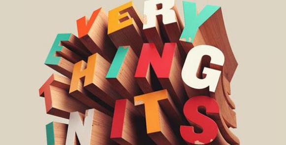 从图形设计角度对字体类海报的探析