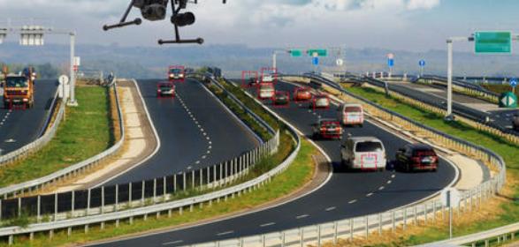 高速公路检测中无人机影像的应用