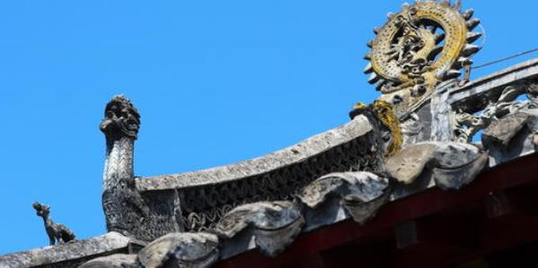 大孤山古建筑群勾头滴水装饰艺术与应用研究