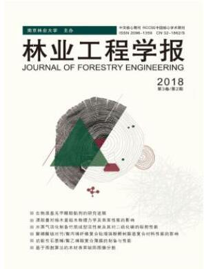 核心期刊林业工程学报杂志2018年04期投稿论文目录查询